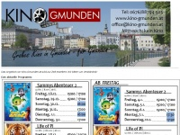 kino-gmunden.at Webseite Vorschau