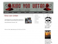kino-von-unten.de Webseite Vorschau