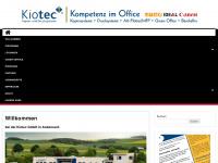 kiotec.de Webseite Vorschau