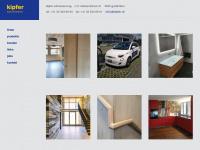 kipfer.ch Webseite Vorschau