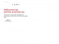 kipfer-ag.ch Webseite Vorschau