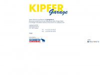 kipfergmbh.ch Webseite Vorschau