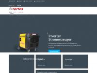 kipor-power.de Webseite Vorschau
