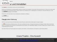 kipnis-immobilien.de Webseite Vorschau