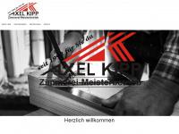 kipp-zimmerei.de Webseite Vorschau