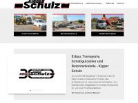 kipper-schulz.de Webseite Vorschau