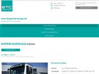 kipperfahrzeuge.de Webseite Vorschau