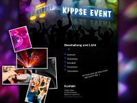 kippse-event.de Webseite Vorschau