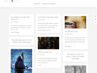 kira-ising.de Webseite Vorschau