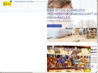 kira.ch Webseite Vorschau