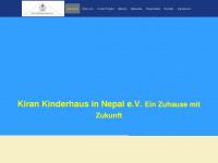 kiran-kinderhaus.de Webseite Vorschau