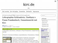 kirc.de Webseite Vorschau