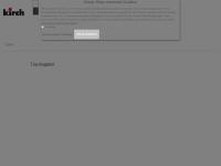 kirch-onlineshop.de Webseite Vorschau