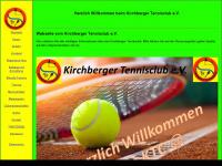 kirchberger-tennisclub.de Webseite Vorschau