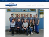 kirchberger-maschinenbau.at Webseite Vorschau