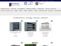 kirchberger-metall.de Webseite Vorschau