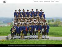 kirchdorfer-blasmusik.de Webseite Vorschau