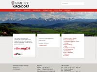 kirchdorf-be.ch Webseite Vorschau