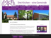 kirche-hasbergen.de Webseite Vorschau