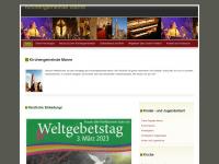 kirche-marne.de Webseite Vorschau
