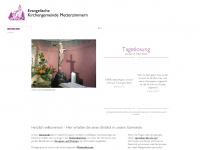 kirche-metterzimmern.de Webseite Vorschau