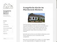 kirche-moeckern.de Webseite Vorschau