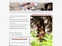 kirche-mundingen.de Webseite Vorschau