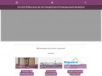 kirche-neubulach.de Webseite Vorschau