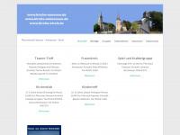 kirche-naensen.de Webseite Vorschau