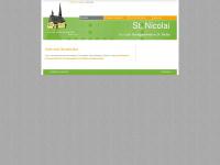 kirche-niclas.de Webseite Vorschau