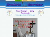 kirche-niedervellmar.de Webseite Vorschau