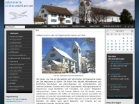 kirche-oetwil.ch Webseite Vorschau