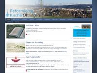 kirche-oftringen.ch Webseite Vorschau