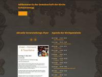 kirche-schwarzenegg.ch Webseite Vorschau