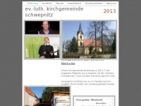 kirche-schwepnitz.de Webseite Vorschau
