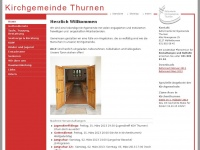 kirche-thurnen.ch Webseite Vorschau