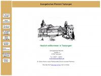 kirche-tast.de Webseite Vorschau