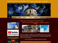 kirche-triebes.de Webseite Vorschau