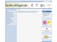kirche-uhingen.de Webseite Vorschau