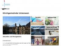 kirche-unterseen.ch Webseite Vorschau