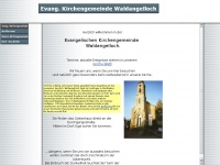 kirche-waldangelloch.de Webseite Vorschau