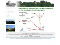 kirche-warnkenhagen.de Webseite Vorschau
