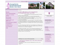 kirche-weilerzumstein.de Webseite Vorschau