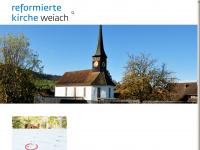 kirche-weiach.ch Webseite Vorschau