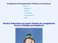 kirche-willstaett.de Webseite Vorschau