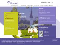kirche-wichtrach.ch Webseite Vorschau