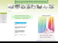 kirche-woltersdorf-jaenickendorf.de Webseite Vorschau