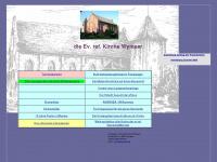 kirche-wymeer.de Webseite Vorschau