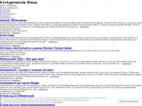 kirche-wiesa.de Webseite Vorschau