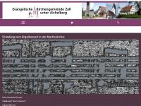kirche-zell.de Webseite Vorschau